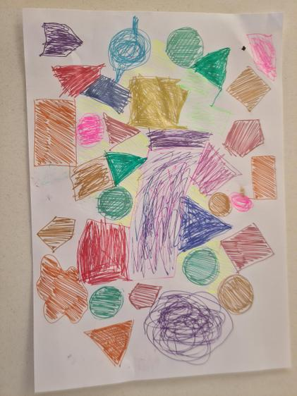 Jude's colourful enquiry artwork!