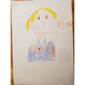 Ben's picture of Miss Daverson