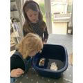 Darcey's science boat