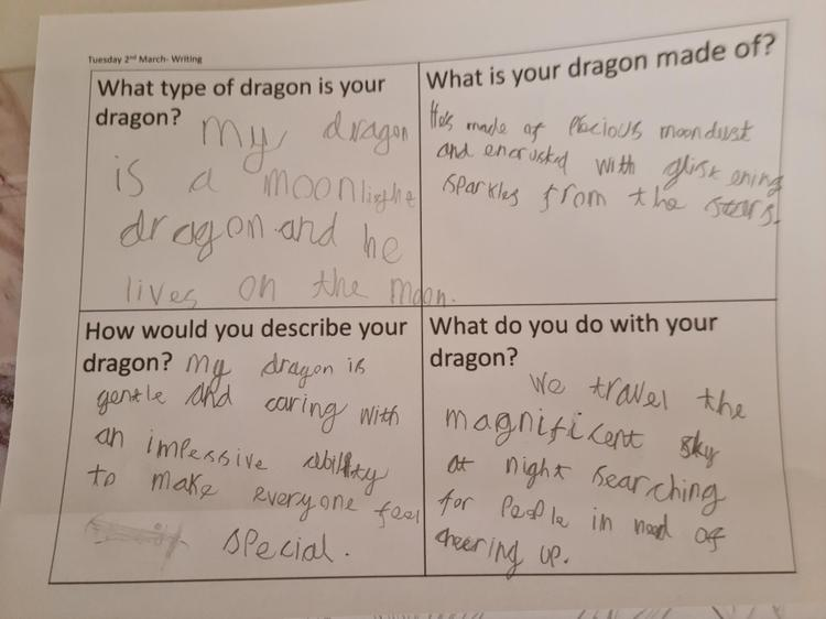 This is a dragon 'with a special ability to make everyone feel special!'