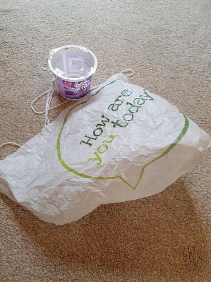 Kieran's parachute