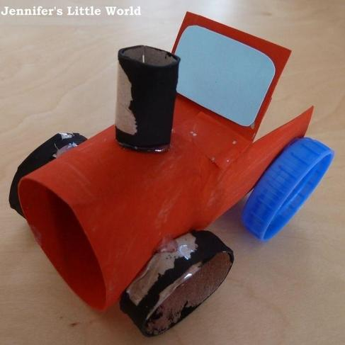 Example of a junk tractor