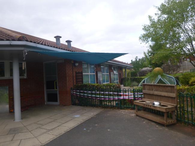 Our wonderful courtyard