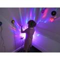 Exploring lights in the quiet room