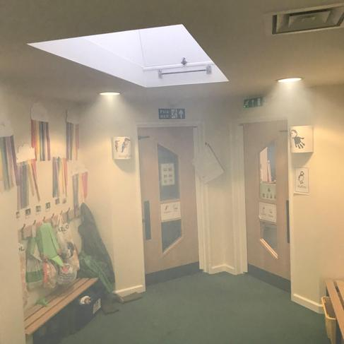Dr Fog cleaning - KS1 corridor 3