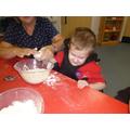 Making playdough