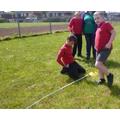 Measuring a square