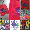 Hand sanitiser pouches and key rings