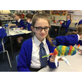 We designed and created our own animals