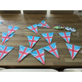 Isabel's super bunting!