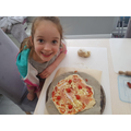 Making pizza!