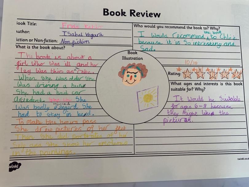 Review of 'Frida Kahlo' by Willow