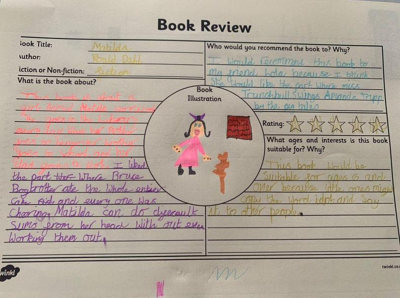 Review of Matilda by Willow
