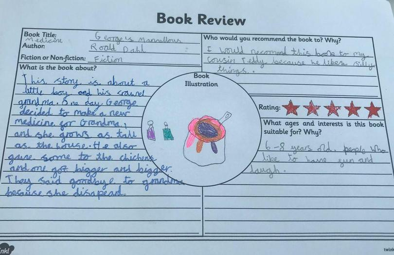 George's Marvellous Medicine by Chloe
