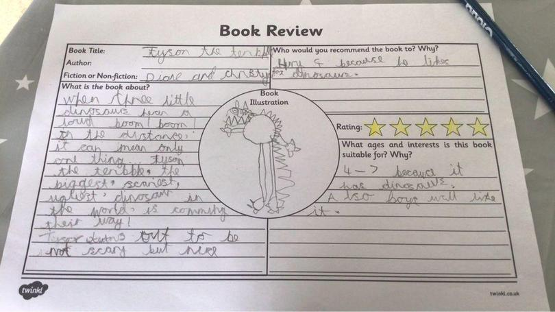 Review of Tyson the Terrible by Charlie