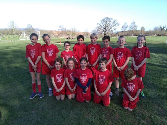On Tuesday 26th April, year 3, 4, 5 and 6 children took part in a cross country event at Stover School. There were over hundred runners in each year group race, with a challenging course around Stover's grounds. All Blackpool runners demonstrated a fantastic attitude and represented the school superbly.