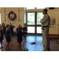 Thank you to Eddie the Taekwondo teacher.