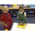 Exploring creating textures