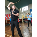 Mr Hill loves Tai-chi!