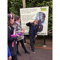 Everyone was very excited to see the animals
