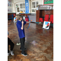 Archery lessons for P.E.