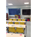 This is our very new classroom.
