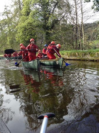 Canoe Race!