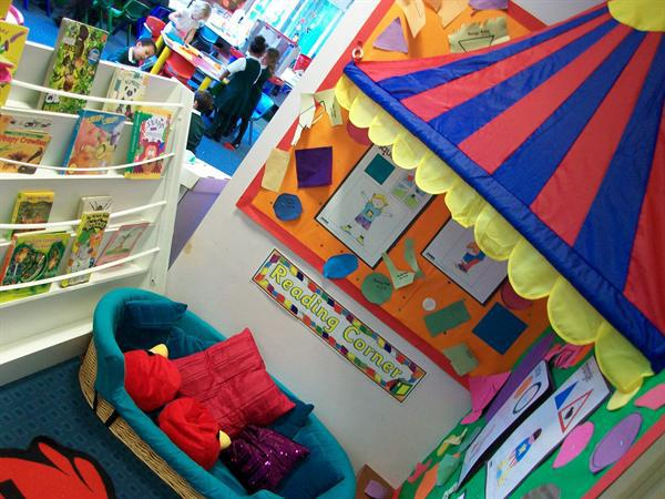 Our Book Corner. (Changes regularly).