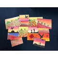 WWI silhouettes and landscapes