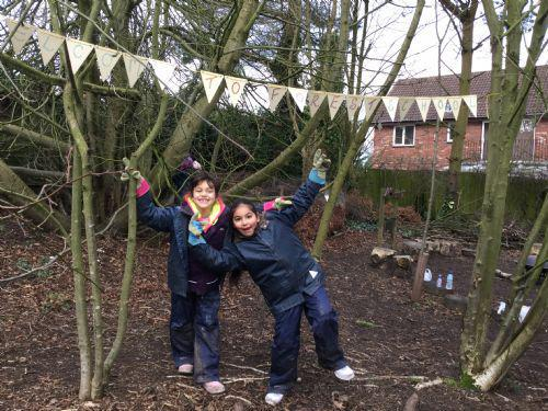 Teamwork is everything at Forest School.