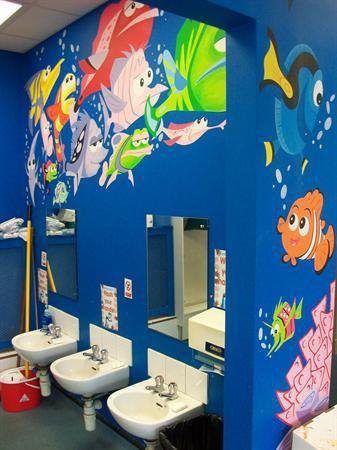 Our Nemo Bathroom.