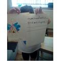 We wrote sentences!!