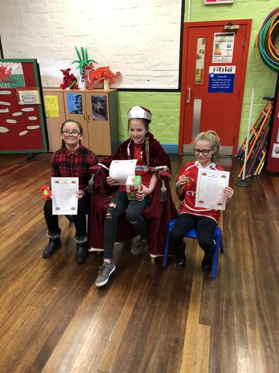 'I am Welsh' St.Davids Day competition winners