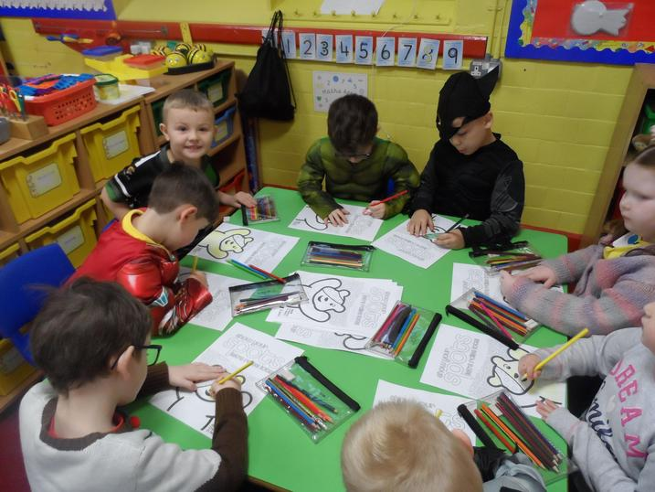 Pudsey colouring