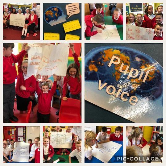 We continue to develop Pupil Voice