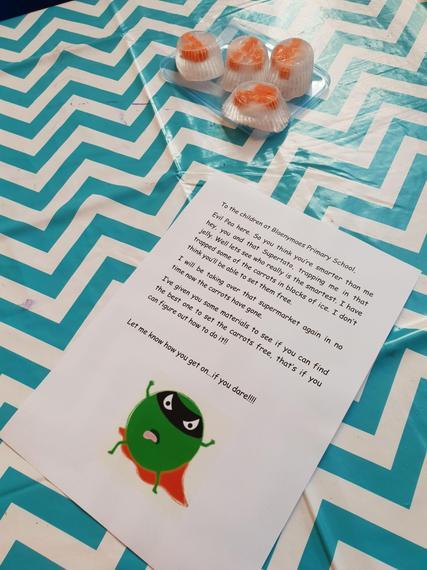 Evil Pea sent us a letter!!