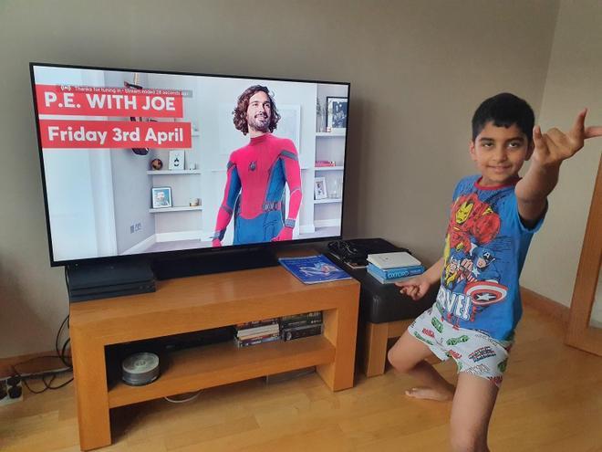Joe Wicks Spiderman!
