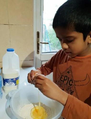 Sanjay baking