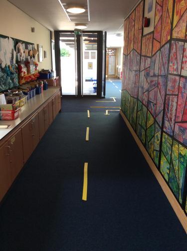 Year 1 & Year 2 Corridor
