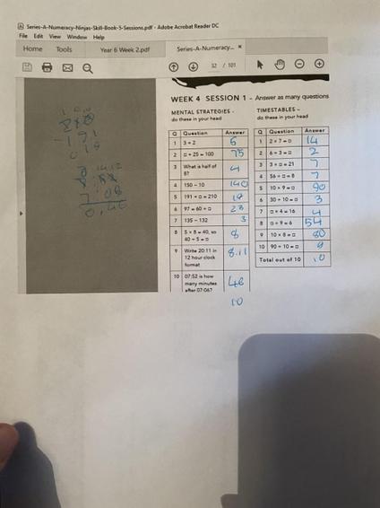 Bailey Ninja Maths