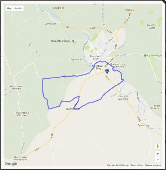 Ecclesiastical Parish catchment area