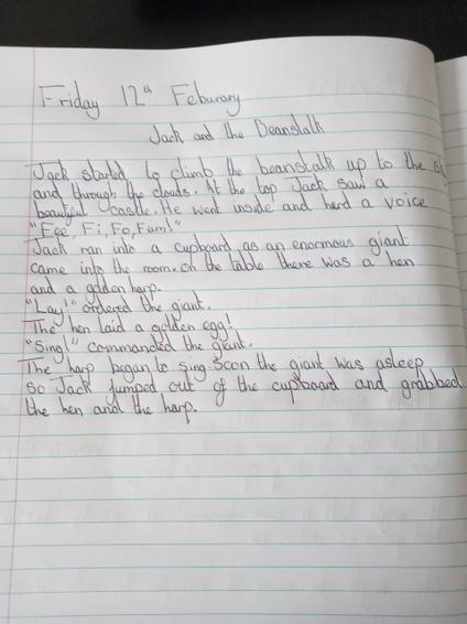 Lillie handwriting