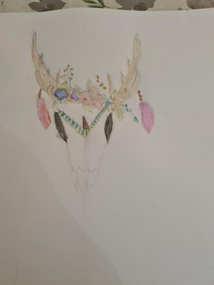 Olivia Rose art from last week