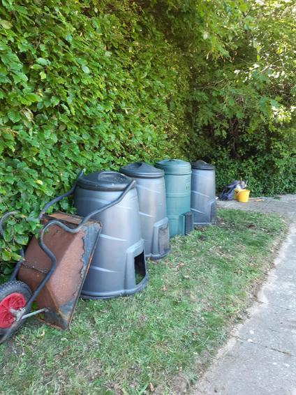 Our larger range of compost bins for expansion!