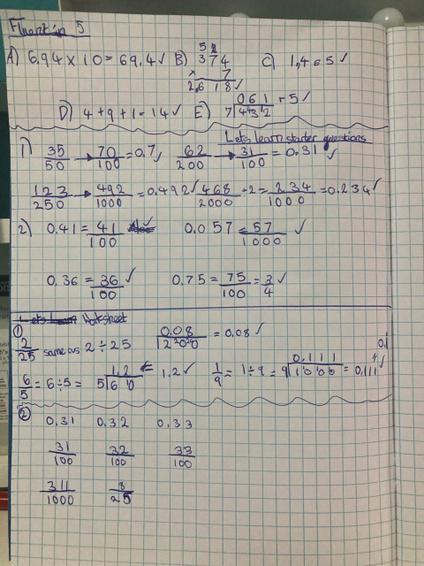 Brooke maths