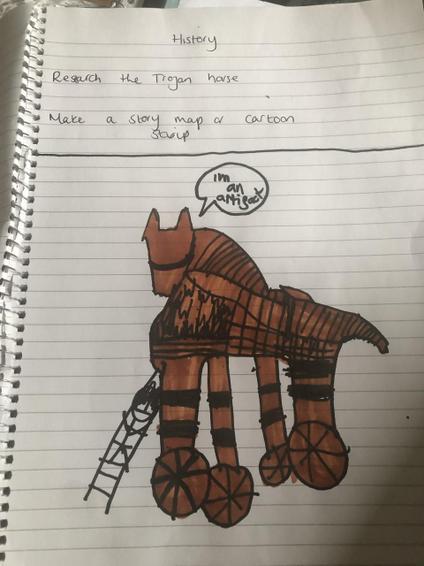 Cruz Trojan horse