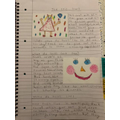 I love how you have presented your English and worked hard on your writing!