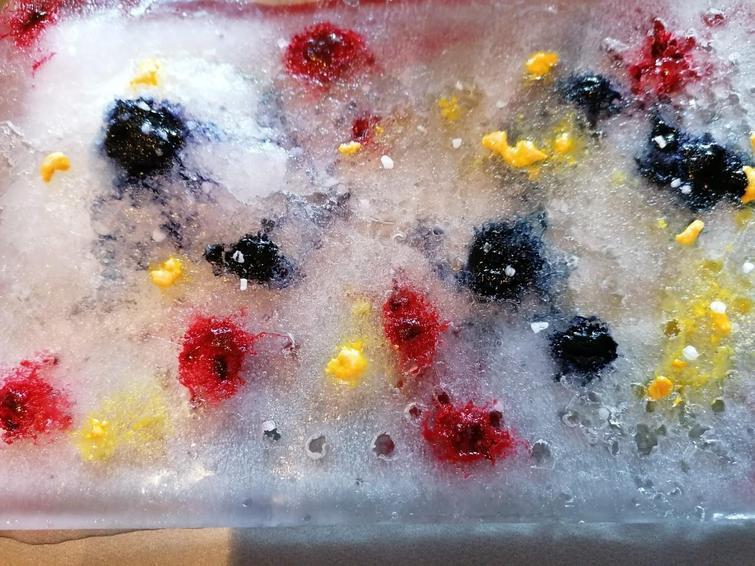 Spotty ice creations!