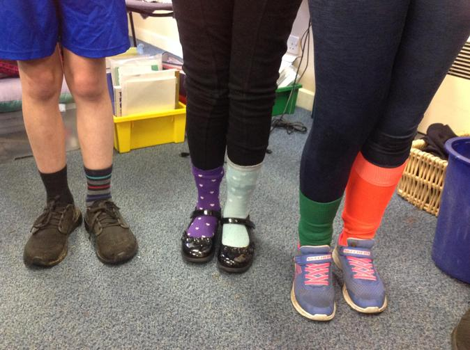 Odd Sock Day - we think diversity and difference is awesome!
