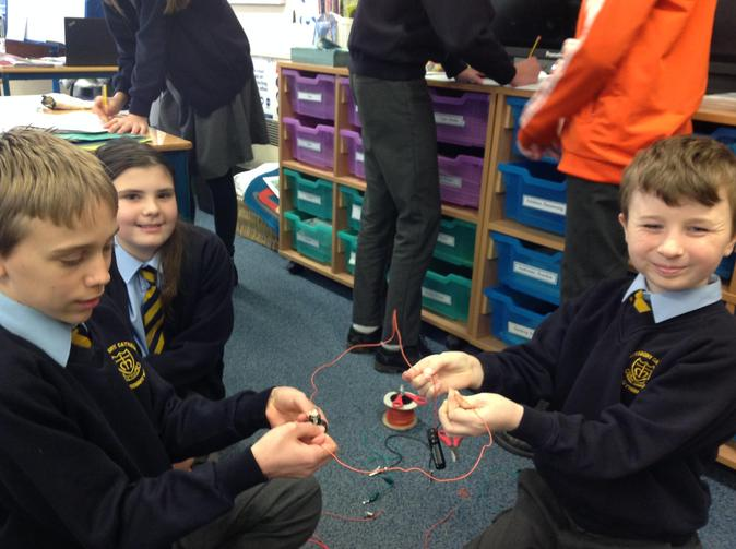 Check out our circuit work. We used these to build lamps from recycled materials.